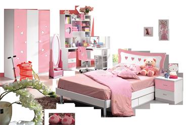 Dormitoare Fete Roz Princess