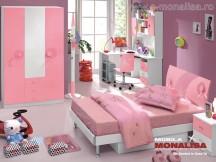 Dormitoare Copii Sweet Pink - Poze