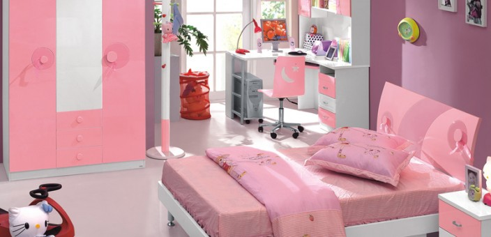 Dormitoare Copii Sweet Pink