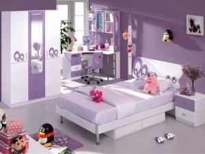 Dormitor Fete Mov QQ