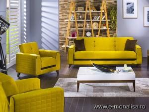Set Canapea cu fotolii Fabio