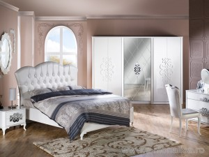 Mobila dormitor de Lux Brillance