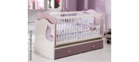 Vanzare Patut bebe alb roz Joyful Bucuresti