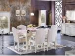 Mobila de Lux Living / Dining Lisbon alb