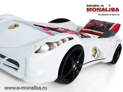 Pat Masina Nitro GT Alb