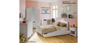Vanzare Dormitor copii ieftin MDF Alb Sweet Bucuresti