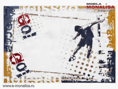 Covor copii tineret Go Football Armoni blue 125x180 Therapist