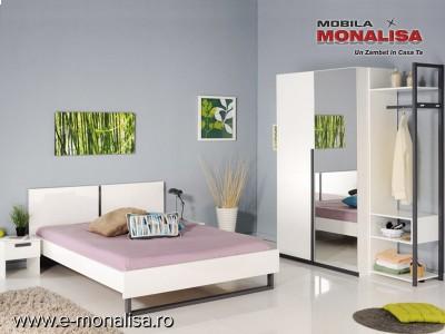 Dormitor Modern Tineret Alba