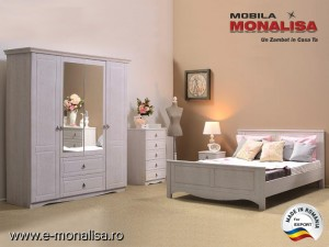 Dormitor complet Blanca