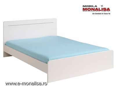 Pat Dormitor Alb Myriad