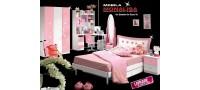 Vanzare Set Dormitor Roz Princess Heart Bucuresti