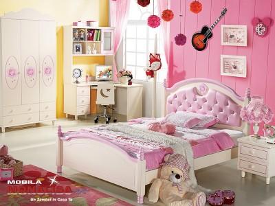 Dormitor Copii fete Kitty