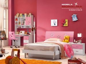 Mobila Dormitor Fete Zara Pink