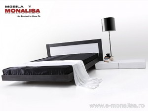 Mobila Dormitor Alb Negru