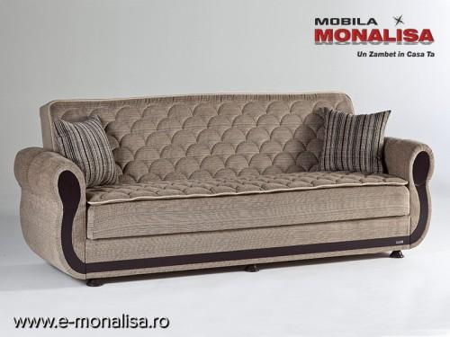 Canapea Extensibila cu lada Argos