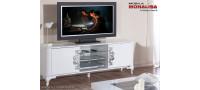 Vanzare Comoda TV de lux alb lucios Brillance Bucuresti