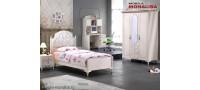 Vanzare Dormitor alb tineret / copii stil clasic de lux Gold Bucuresti