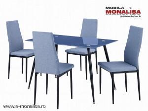 Set masa si 4 scaune Bucatarie - Living Dinette