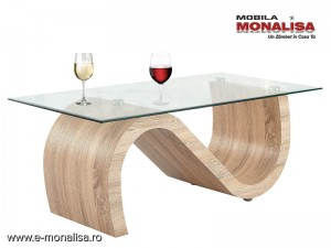 Masa cafea Living moderna - Feeling oak S
