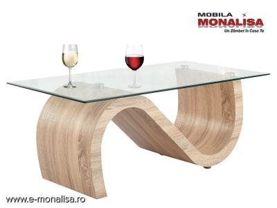 Masa cafea Living moderna - Feeling oak S
