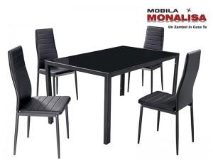 Set Masa cu 4 scaune Matrix