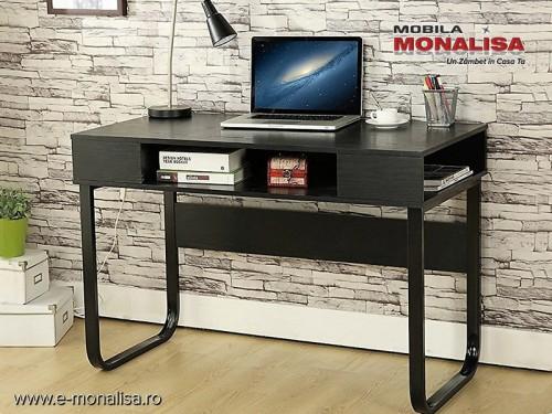 Birou pentru Laptop Setup negru