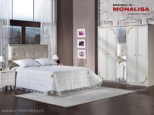 Mobila Dormitor complet Alb fildes de Lux Astoria
