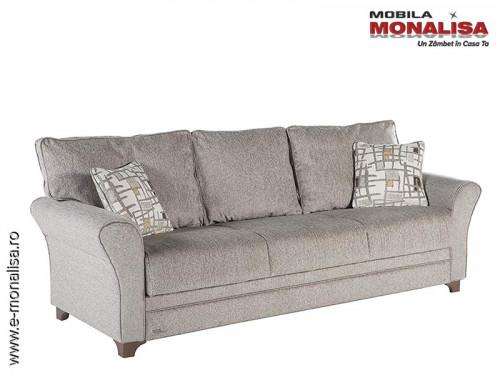 Canapea extensibila cu functie de dormit Padova cu lada