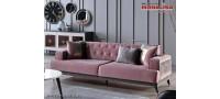 Vanzare Canapea originala de Lux Prada chester roz prafuit 3 locuri Bucuresti