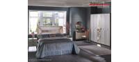 Vanzare Set Mobila Dormitor de lux moderna Prada original gri antracit Bucuresti