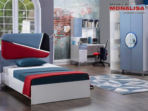 Mobila dormitor Baieti si Fete - copii si tineret - Tekno modern
