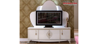 Vanzare Comoda TV pt. Living elegant - Vienna alb fildes de Lux Bucuresti