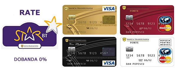 Carduri de Rate Star BT