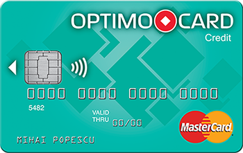 Mobila OnLine cu Optimo Card