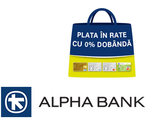 Mobila in rate prin Carduri Alpha Bank
