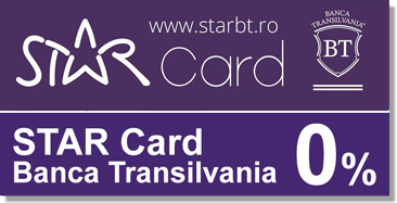 Mobila in Rate Card Star BT