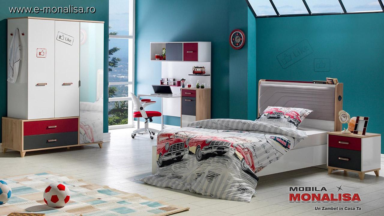 Dormitor Modern copii tineret fete baieti Like