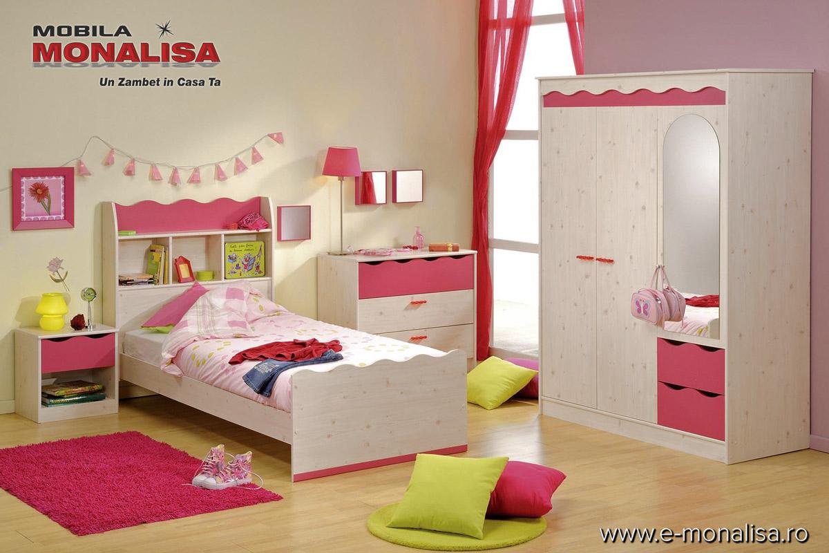 mobila camera copii fete lolita mobila dormitor copii. Black Bedroom Furniture Sets. Home Design Ideas