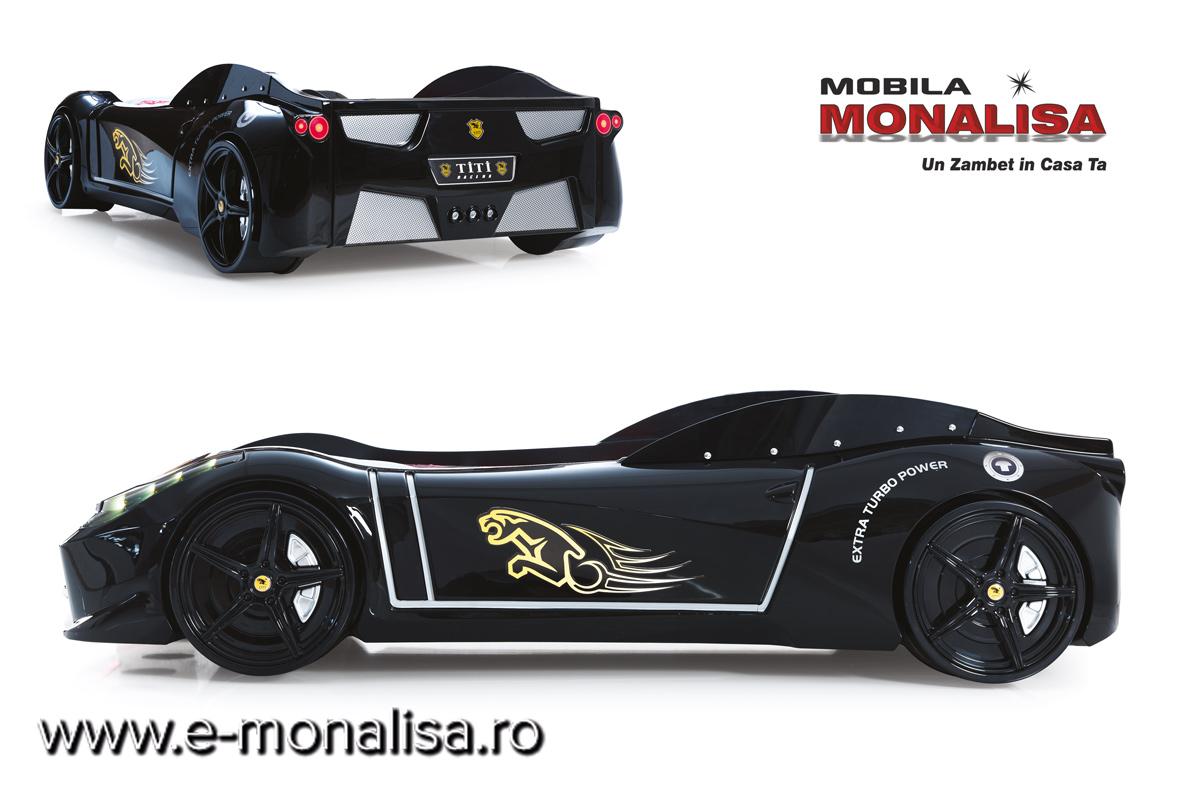 Pat Masina Ferrari Negru