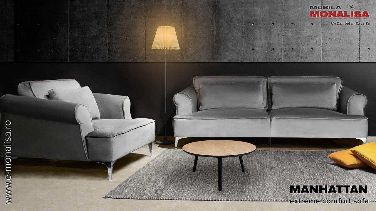 Canapele cu fotolii comfortabile de calitate Mobila Dalin
