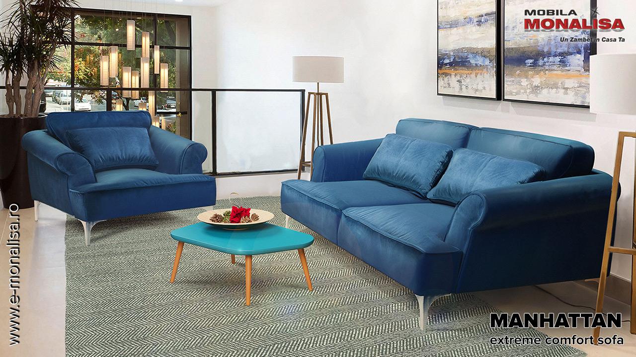 Canapele confortabile de calitate Mobila Dalin