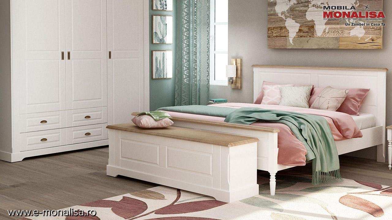 Dormitor Bastide alm lemn masiv clasic pret fabrica