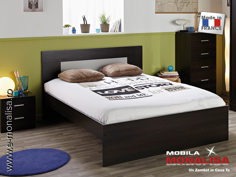 Pat Matrimonial Easy 160 x 200   Vanzare paturi dormitor ieftine