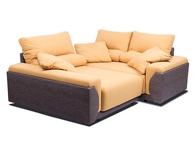 Canapea Coltar transformat in pat