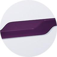 Dormitor Alb Lucios cu insertii Violet