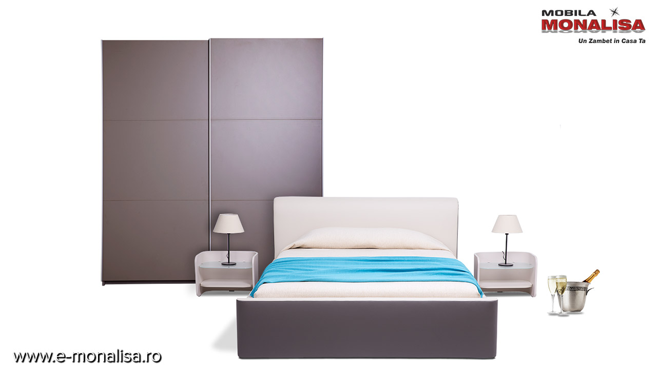 Mobila dormitor moderna Guinness - Rate si Transport Gratuit