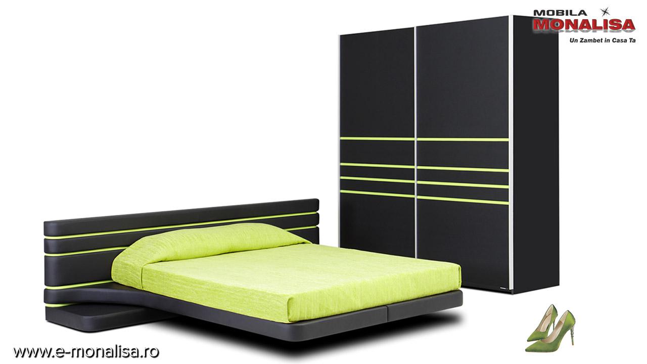 Paturi tapitate pt. dormitoare moderne Ergodesign