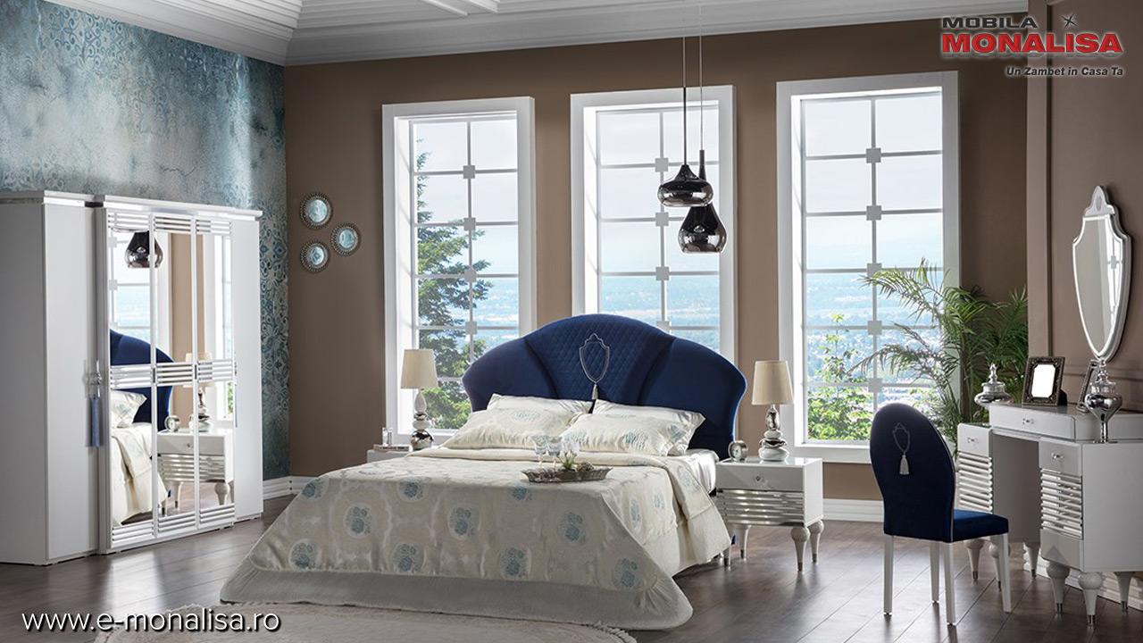 Oferta preturi dormitoare moderne albe de lux