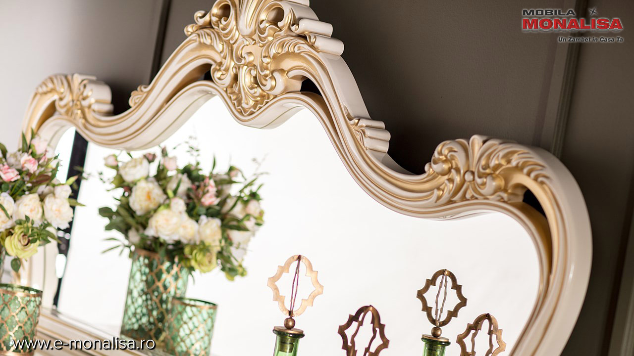 Oglinda bufet sufragerie