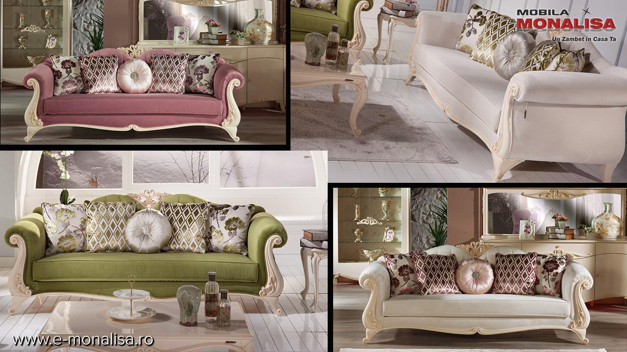 Canapele clasice de lux modele deosebite la oferta